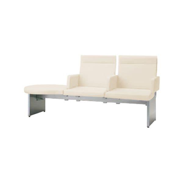 コクヨ(KOKUYO) ベンチ ロビーチェア PADRE(パドレ) W1955×D720×H895mm CN-1203ARS [いす イス 椅子 ロビー 受付 ロビーソファ チェア オフィス家具 オフィス用 オフィス用品]