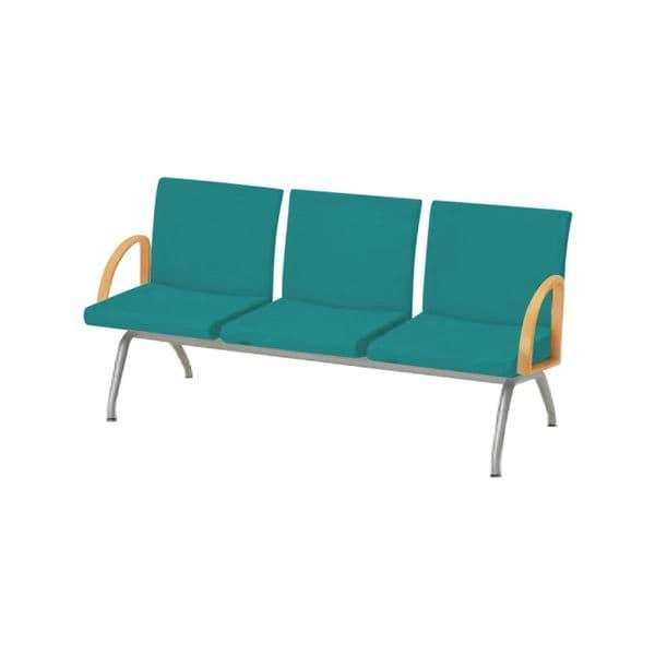 コクヨ(KOKUYO) ベンチ ロビーチェア CORETTY(コレッティ) W1660×D620×H770mm CN-423AK [いす イス 椅子 ロビー 受付 ロビーソファ チェア オフィス家具 オフィス用 オフィス用品]