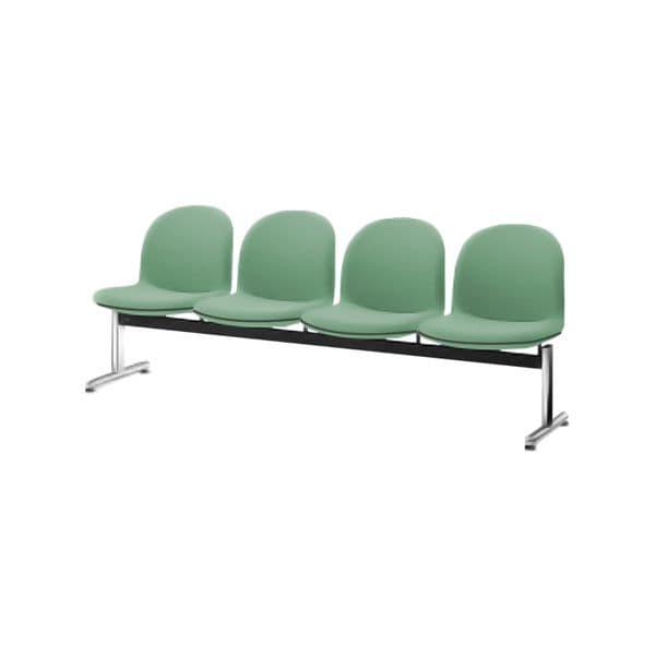 コクヨ(KOKUYO) ベンチ ロビーチェア パーム430 W2025×D620×H775mm CN-434VH [いす イス 椅子 ロビー 受付 ロビーソファ チェア オフィス家具 オフィス用 オフィス用品]