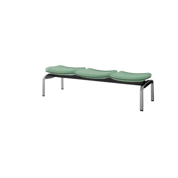 コクヨ(KOKUYO) ベンチ ロビーチェア パーム430 W1530×D530×H410mm CN-438BVH [いす イス 椅子 ロビー 受付 ロビーソファ チェア オフィス家具 オフィス用 オフィス用品]