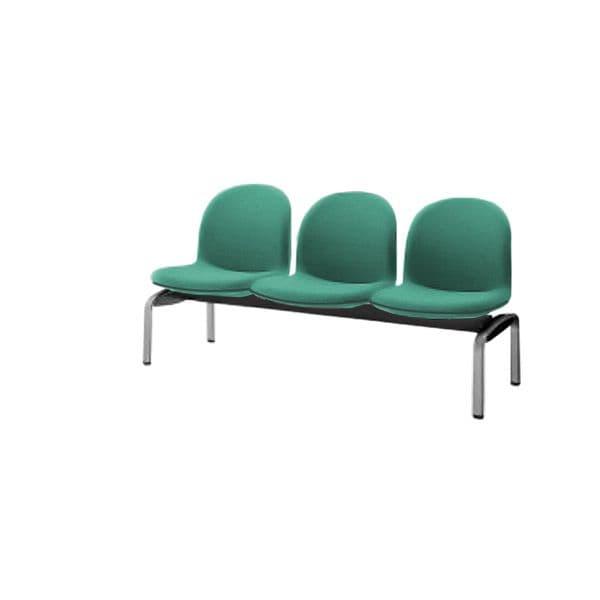 コクヨ(KOKUYO) ベンチ ロビーチェア パーム430 W1530×D620×H775mm CN-438K [いす イス 椅子 ロビー 受付 ロビーソファ チェア オフィス家具 オフィス用 オフィス用品]