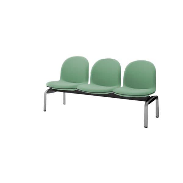 コクヨ(KOKUYO) ベンチ ロビーチェア パーム430 W1530×D620×H775mm CN-438VH [いす イス 椅子 ロビー 受付 ロビーソファ チェア オフィス家具 オフィス用 オフィス用品]