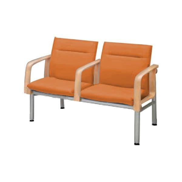 コクヨ(KOKUYO) 待合室用ベンチ 460シリーズ W1195×D660×H810mm CN-462AA [いす イス 椅子 ロビー 受付 ロビーソファ チェア ベンチ オフィス家具 オフィス用 オフィス用品]
