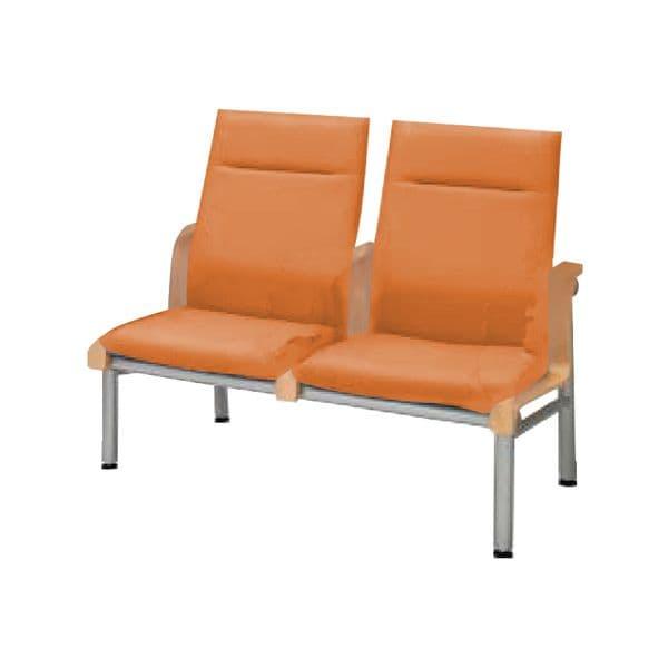 コクヨ(KOKUYO) 待合室用ベンチ 460シリーズ W1195×D700×H960mm CN-462H [いす イス 椅子 ロビー 受付 ロビーソファ チェア ベンチ オフィス家具 オフィス用 オフィス用品]
