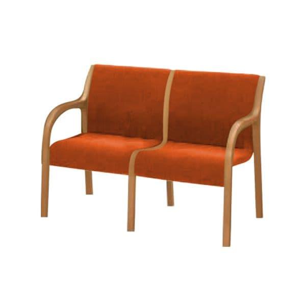 コクヨ(KOKUYO) ベンチ ロビーチェア 400シリーズ W1105×D610×H795mm CN-W402AK5 [いす イス 椅子 ロビー 受付 ロビーソファ チェア オフィス家具 オフィス用 オフィス用品]