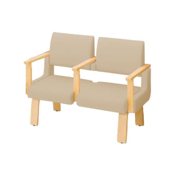 コクヨ(KOKUYO) ベンチ ロビーチェア ALRA(アルラ) W1235×D600×H970mm CN-W452HAAHL [いす イス 椅子 ロビー 受付 ロビーソファ チェア オフィス家具 オフィス用 オフィス用品]