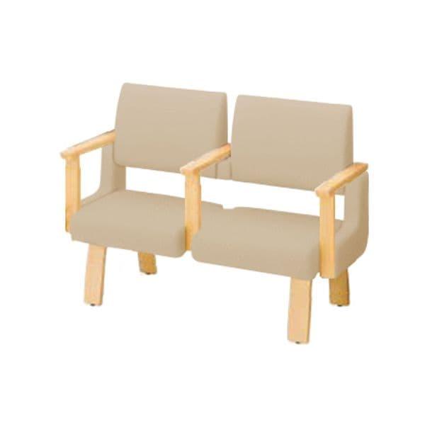 コクヨ(KOKUYO) ベンチ ロビーチェア ALRA(アルラ) W1235×D560×H900mm CN-W452HAAMS [いす イス 椅子 ロビー 受付 ロビーソファ チェア オフィス家具 オフィス用 オフィス用品]