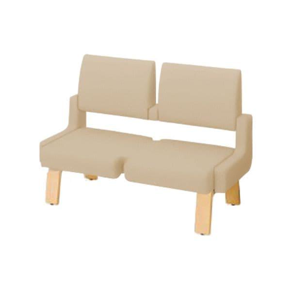 コクヨ(KOKUYO) ベンチ ロビーチェア ALRA(アルラ) W1235×D600×H870mm CN-W452HLL [いす イス 椅子 ロビー 受付 ロビーソファ チェア オフィス家具 オフィス用 オフィス用品]