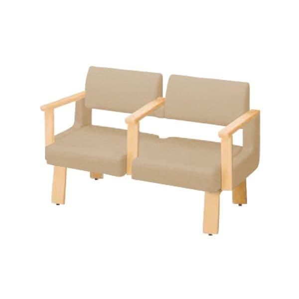 コクヨ(KOKUYO) ベンチ ロビーチェア ALRA(アルラ) W1235×D560×H800mm CN-W452LAAMS [いす イス 椅子 ロビー 受付 ロビーソファ チェア オフィス家具 オフィス用 オフィス用品]