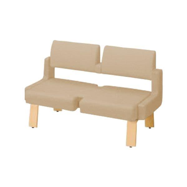 コクヨ(KOKUYO) ベンチ ロビーチェア ALRA(アルラ) W1235×D560×H770mm CN-W452LLS [いす イス 椅子 ロビー 受付 ロビーソファ チェア オフィス家具 オフィス用 オフィス用品]