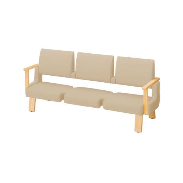 コクヨ(KOKUYO) ベンチ ロビーチェア ALRA(アルラ) W1815×D560×H870mm CN-W453HALS [いす イス 椅子 ロビー 受付 ロビーソファ チェア オフィス家具 オフィス用 オフィス用品]