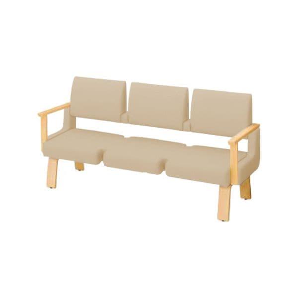 コクヨ(KOKUYO) ベンチ ロビーチェア ALRA(アルラ) W1815×D600×H900mm CN-W453HAML [いす イス 椅子 ロビー 受付 ロビーソファ チェア オフィス家具 オフィス用 オフィス用品]