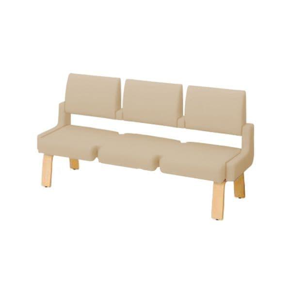コクヨ(KOKUYO) ベンチ ロビーチェア ALRA(アルラ) W1815×D600×H970mm CN-W453HHL [いす イス 椅子 ロビー 受付 ロビーソファ チェア オフィス家具 オフィス用 オフィス用品]