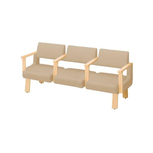 コクヨ(KOKUYO) ベンチ ロビーチェア ALRA(アルラ) W1815×D560×H770mm CN-W453LAALS [いす イス 椅子 ロビー 受付 ロビーソファ チェア オフィス家具 オフィス用 オフィス用品]