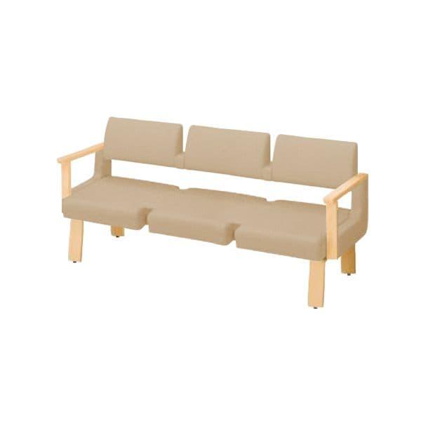 コクヨ(KOKUYO) ベンチ ロビーチェア ALRA(アルラ) W1815×D600×H870mm CN-W453LAHL [いす イス 椅子 ロビー 受付 ロビーソファ チェア オフィス家具 オフィス用 オフィス用品]