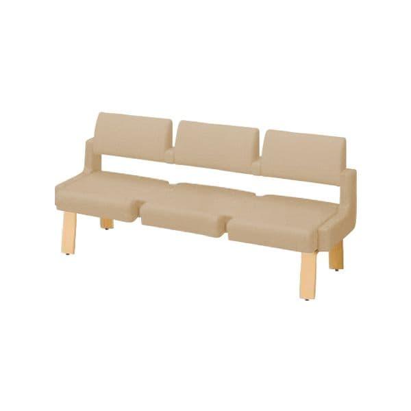 コクヨ(KOKUYO) ベンチ ロビーチェア ALRA(アルラ) W1815×D560×H870mm CN-W453LHS [いす イス 椅子 ロビー 受付 ロビーソファ チェア オフィス家具 オフィス用 オフィス用品]