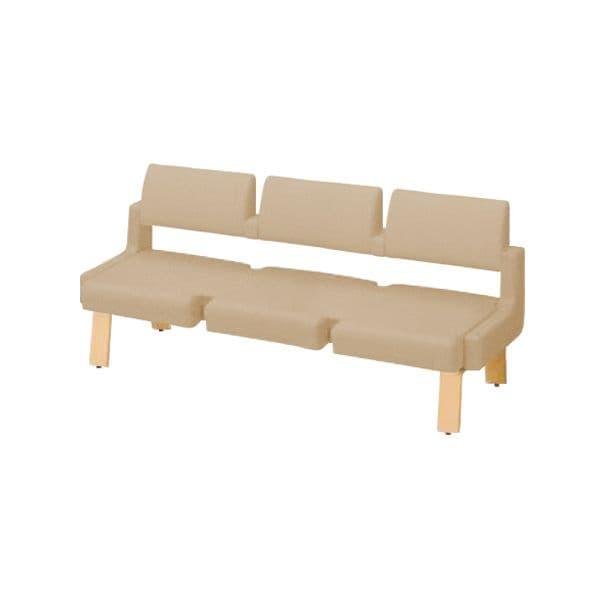 コクヨ(KOKUYO) ベンチ ロビーチェア ALRA(アルラ) W1815×D600×H770mm CN-W453LLL [いす イス 椅子 ロビー 受付 ロビーソファ チェア オフィス家具 オフィス用 オフィス用品]