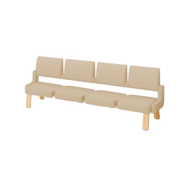 コクヨ(KOKUYO) ベンチ ロビーチェア ALRA(アルラ) W2395×D560×H900mm CN-W454HMS [いす イス 椅子 ロビー 受付 ロビーソファ チェア オフィス家具 オフィス用 オフィス用品]