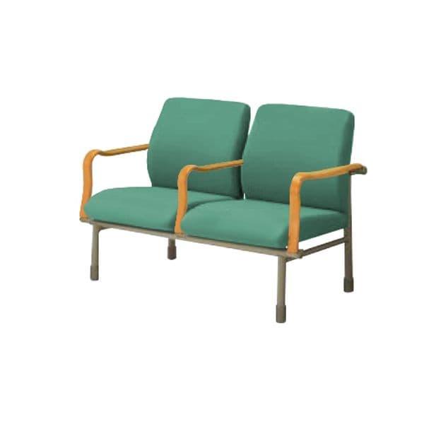 コクヨ(KOKUYO) ベンチ ロビーチェア HE-9シリーズ W1182×D625×H795~835mm HE-9HCNH266Y [いす イス 椅子 ロビー 受付 ロビーソファ チェア オフィス家具 オフィス用 オフィス用品]
