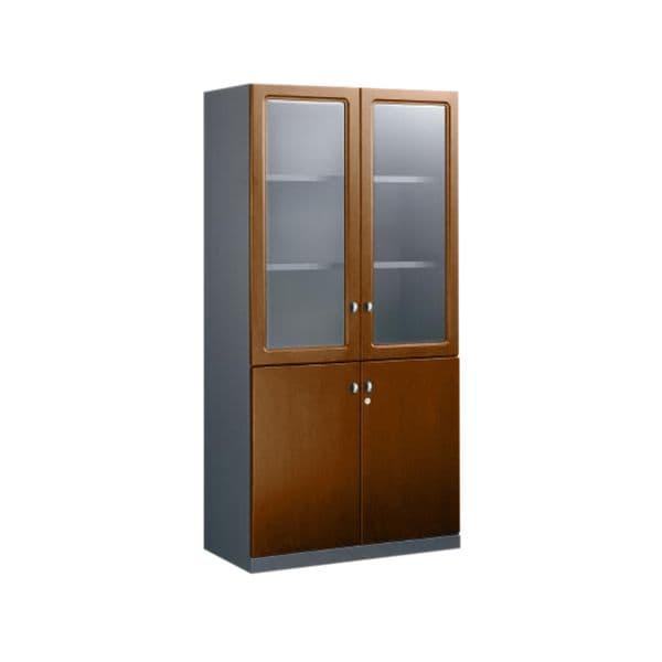 コクヨ(KOKUYO) 収納家具 両開き書棚 マネージメント50 W900×D462×H1800mm MG-5BN3【別途 組立費必須】 [木製収納家具 オフィス家具 オフィス用 オフィス用品 オフィス収納]