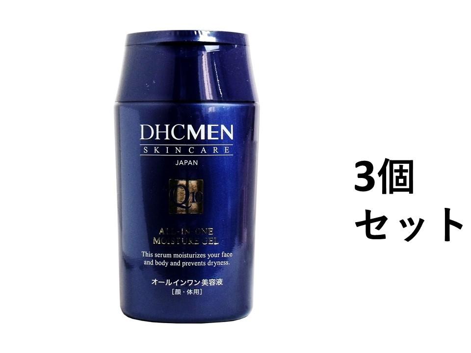 1本で全身保湿のオールインワン美容液!角層にぐんぐん浸透!ベタつかない! 【3個セット】DHCMEN オールインワン モイスチュアジェル 200mL