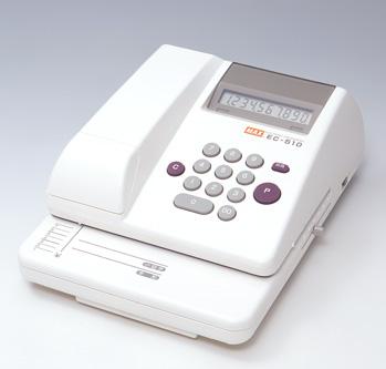 使いやすいスタンダードタイプ 印字桁数 送料無料新品 最大10桁 ☆国内最安値に挑戦☆ 金額 送料無料 マックス 10桁印字 電子チェックライター MAX EC90002 EC-510 スタンダードタイプ