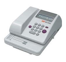 マックス<MAX> 電子チェックライター スタンダードタイプ 10桁印字・コードレス EC-610C(EC90003)【送料無料】