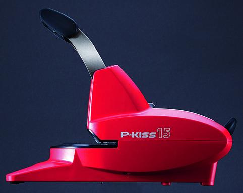 【送料無料】マックス<MAX> 紙針ホッチキス 「P-KISS(ピーキス)」 15枚とじ PH-15DS/R レッド(PH90002)