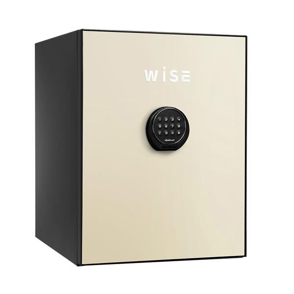 【開梱設置無料】【送料無料】ディプロマット WISEプレミアムセーフ(クリーム) WS500ALC