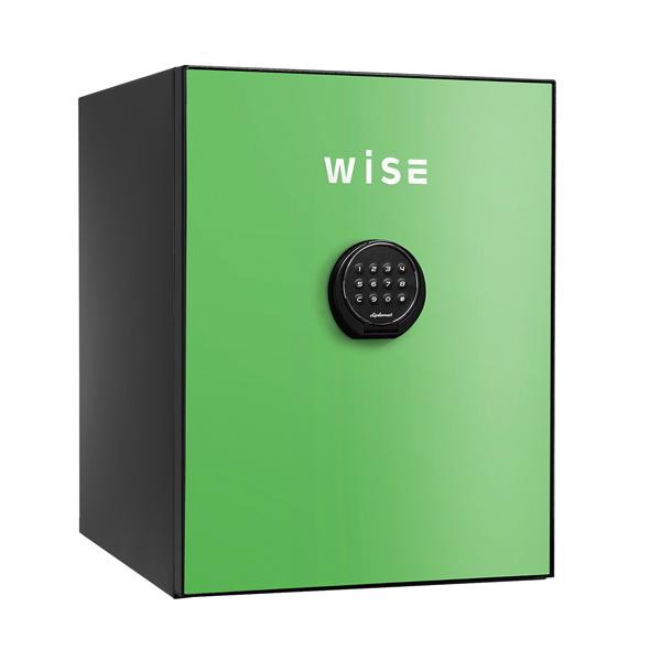 【開梱設置無料】【送料無料】ディプロマット WISEプレミアムセーフ(グリーン) WS500ALG