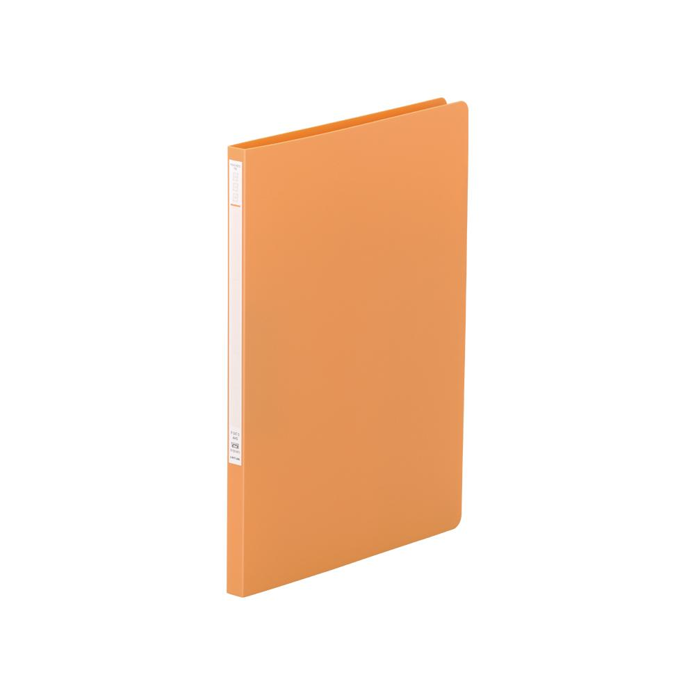 リヒトラブ パンチレスファイルZ式 F-347-3橙 A4 タテ型 収納枚数:コピー用紙120枚