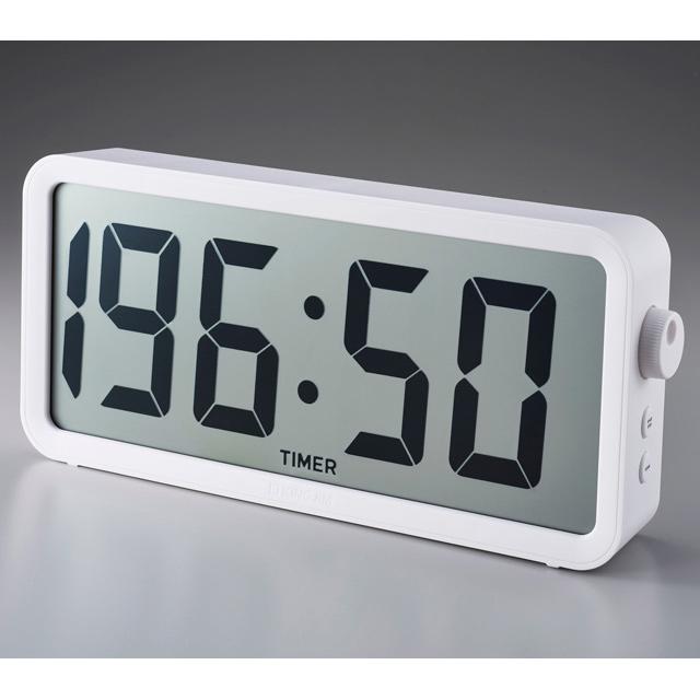 KING JIM<キングジム>タイマー兼電波時計 「ザラージ タイマークロック」 DTC-001W