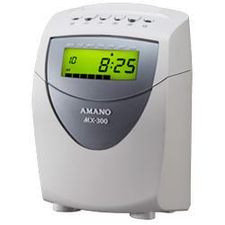 送料無料!! アマノ<amano> 時間集計タイムレコーダー MX-300 (MX300) 月集計モデル