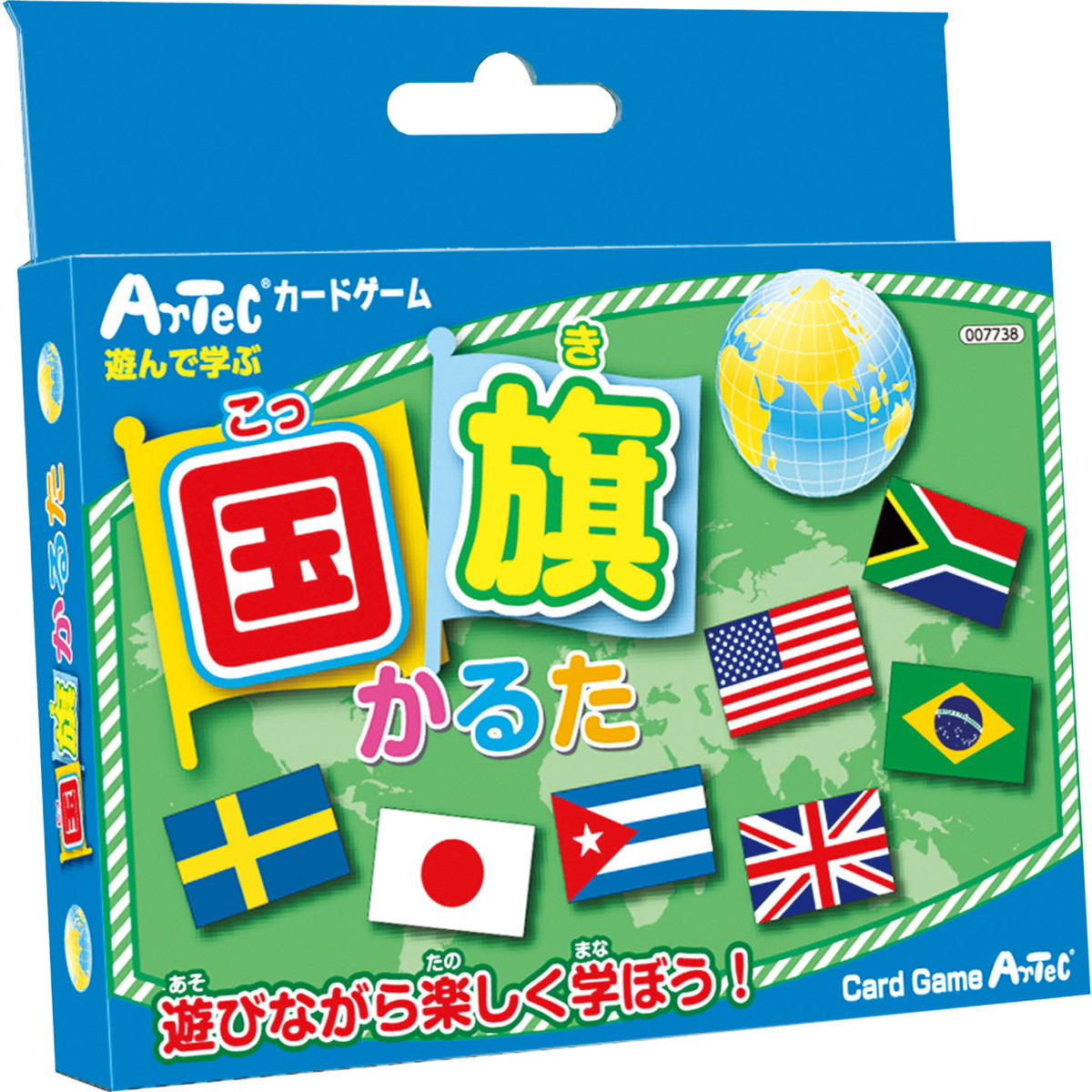 【メーカー欠品中 4月中旬入荷予定】Artec(アーテック) 国旗かるた #2525