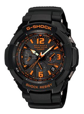 CASIO G-SHOCK(カシオ Gショック) 「SKY COCKPIT(スカイコックピット)」 GW-3000B-1AJF 国内正規品 タフソーラー・電波時計「MULTI BAND 6」搭載