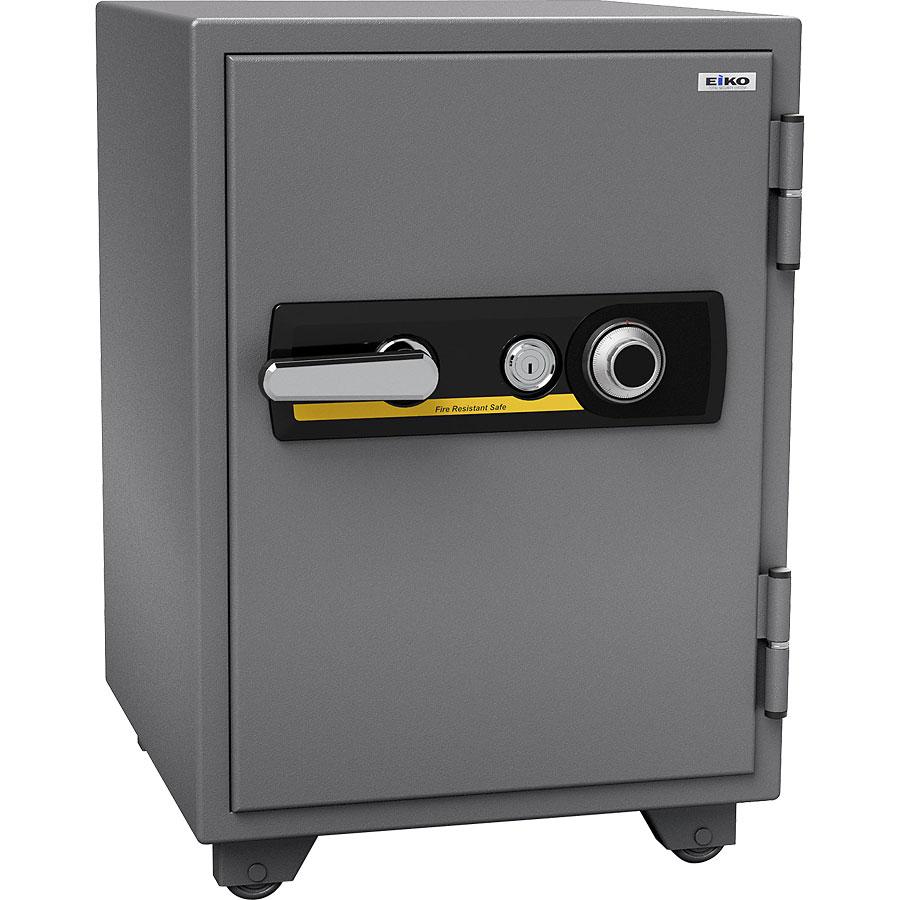 【開梱設置無料】【送料無料】エーコー 家庭用小型耐火金庫 STANDARD 665DK (ダイヤル&シリンダー式) A4ファイル対応 1時間耐火 51L  棚板1枚 鍵付引出し1個 「EIKO」 103kg