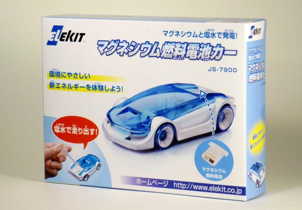 超人気 親も子供も夢中 エレキットのサイエンスロボット工作 イーケイジャパン JS-7900 オンラインショッピング 8337249 マグネシウム燃料電池カー