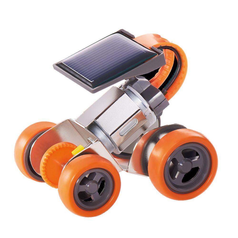 親も子供も夢中 エレキットのサイエンスロボット工作 激安通販 イーケイジャパン JS-6211 ミニソーラーメタルカー 8337255 実物