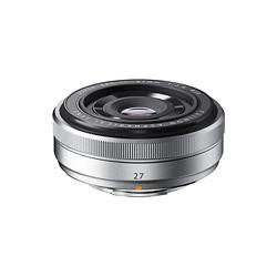 【送料無料】【ラッピング無料】FUJIFILM<富士フイルム> XFレンズ レンズ交換式プレミアムカメラXシリーズXマウント用 フジノンレンズ XF27mmF2.8 シルバー 単焦点 準広角レンズ
