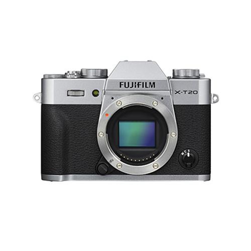 【送料無料】FUJIFILM<富士フイルム> ミラーレスデジタルカメラ X-T20 シルバー