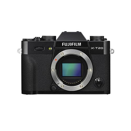 【送料無料】FUJIFILM<富士フイルム> ミラーレスデジタルカメラ X-T20 ブラック