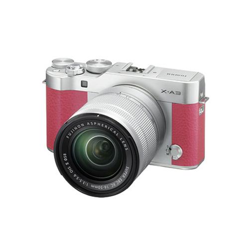 【送料無料】FUJIFILM<富士フイルム> Xシリーズデジタルカメラ X-A3 レンズキット ピンク FX-A3LK-XC-P