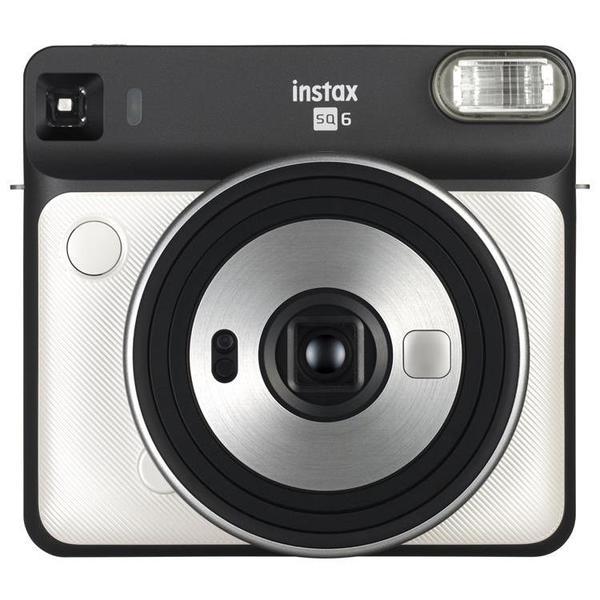 【送料&ラッピング無料】FUJIFILM<富士フイルム> インスタントカメラ チェキスクエア instax SQUARE SQ6 パールホワイト PEARL WHITE