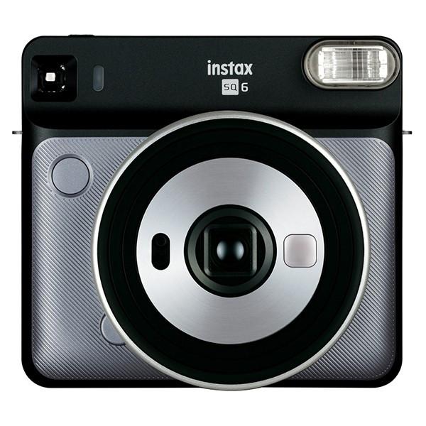 【送料&ラッピング無料】FUJIFILM<富士フイルム> インスタントカメラ チェキスクエア instax SQUARE SQ6 グラファイトグレー GRAPHITE GRAY