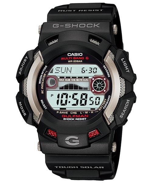 CASIO G-SHOCK(カシオ Gショック) MASTER OF G 「GULFMAN(ガルフマン)」 GW-9110-1JF 国内正規品 タフソーラー