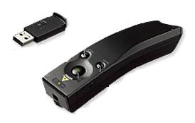 プレゼンにおすすめ! 使いやすさを追求した ユニバーサルデザイン コクヨ レーザーポインター<GREEN>(UDシリーズ) 照射形状可変タイプ ELA-GU94N 【送料無料】