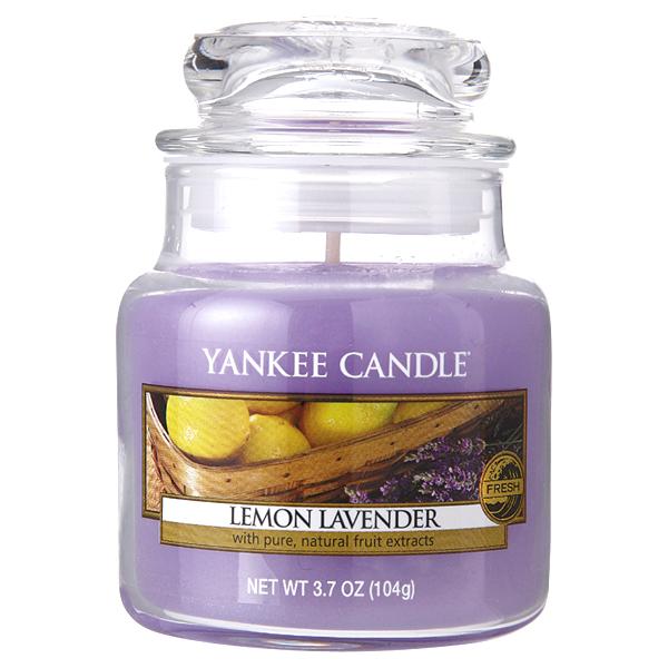 【ラッピング無料♪】YANKEE CANDLE ジャーS レモンラベンダー カメヤマキャンドルハウス YK0030530