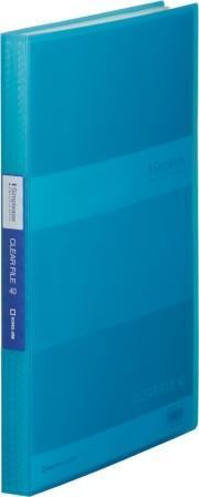 KING JIM キングジム シンプリーズクリアファイル A4 184TSPWアオ 公式ショップ 40P 透明 最安値挑戦 青