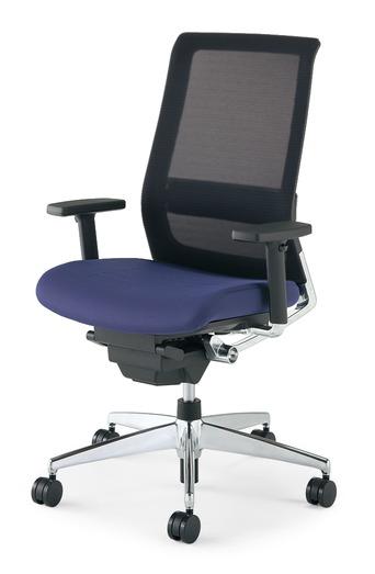 【送料無料】コクヨ<KOKUYO> Advanced Chair(次世代OAチェア) AIRFORT<エアフォート> 「エアランバーサポート搭載」 スタンダードタイプ 上下肘 CR-GA2341□-W・V