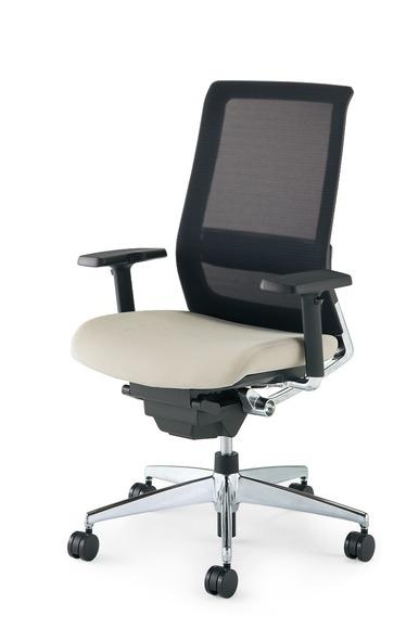 【送料無料】コクヨ<KOKUYO> Advanced Chair(次世代OAチェア) AIRFORT<エアフォート> 「エアランバーサポート搭載」 スタンダードタイプ 可動肘 CR-GA2351□-W・V
